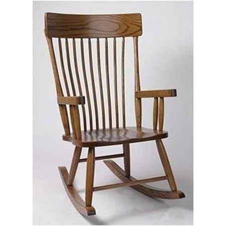 Customizable Solid Wood Country Rocker