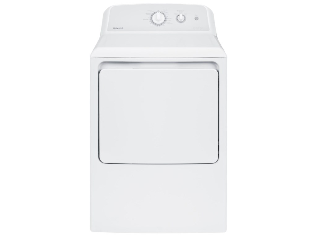 Hotpoint Dryers6.2 Cu.Ft. Capacity Aluminized Alloy Gas Dry