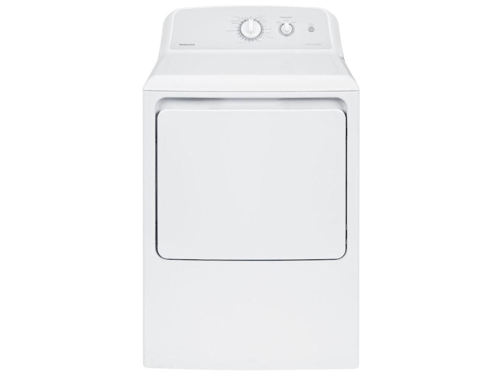 Hotpoint Dryers6.2 Cu.Ft. Capacity Aluminized Alloy Gas Dry