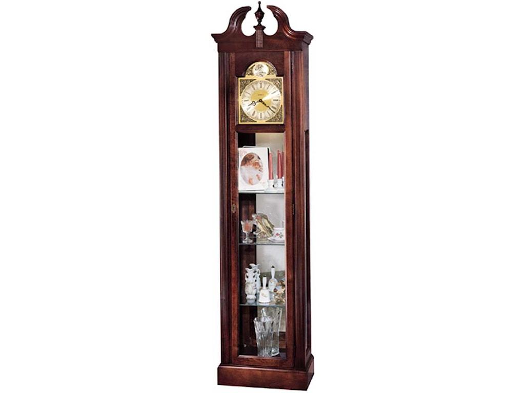 Howard Miller ClocksCherish Curio Floor Clock