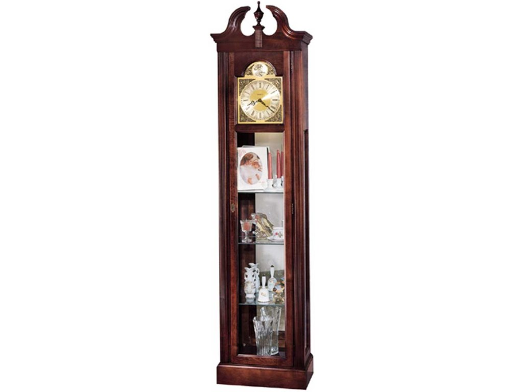 Howard Miller ClocksCherish Curio Floor Clock