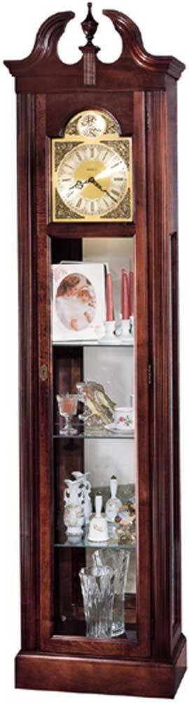 Howard Miller Clocks Cherish Curio Floor Clock