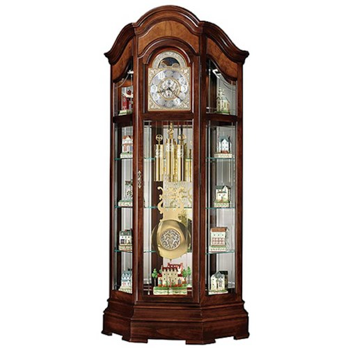 Howard Miller Clocks Majestic II Curio Floor Clock