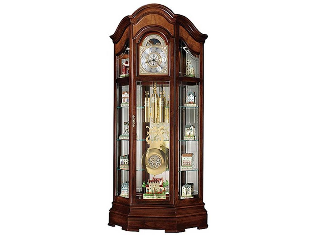 Howard Miller ClocksMajestic II Curio Floor Clock