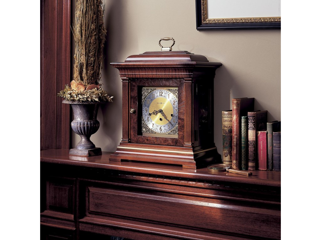 Clock Shown on Mantel