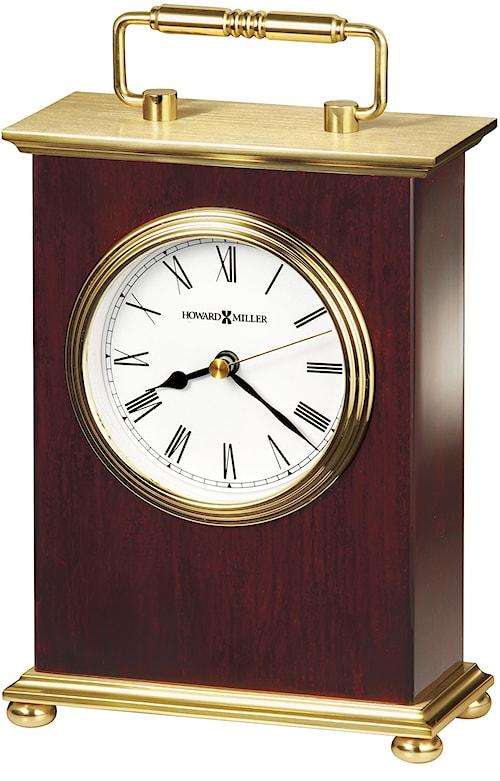 Howard Miller 613 Rosewood Bracket Table Clock