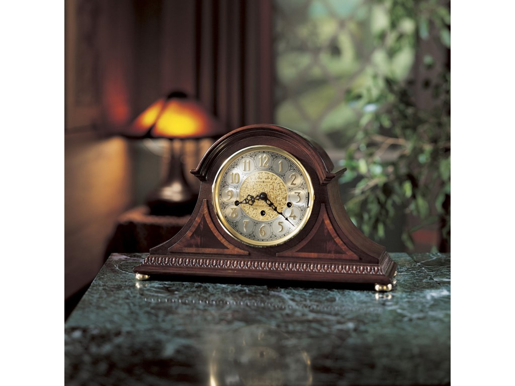Mantel Clock Shown in Room Setting