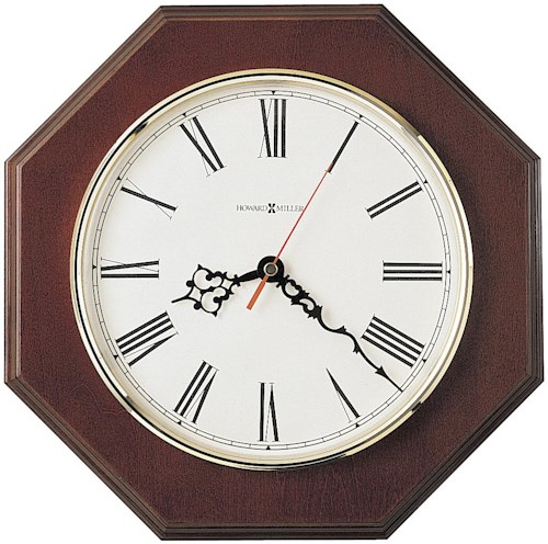 Howard Miller 620 Ridgewood Wall Clock