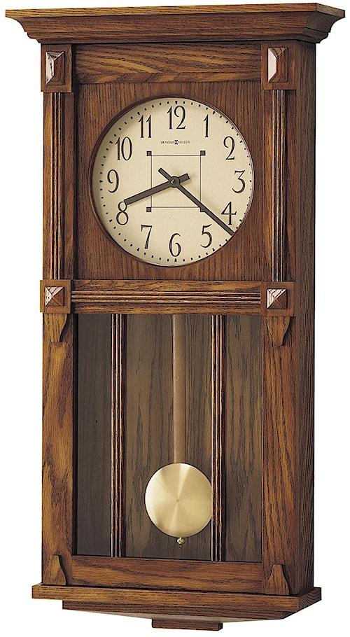Howard Miller 620 Ashbee II Wall Clock