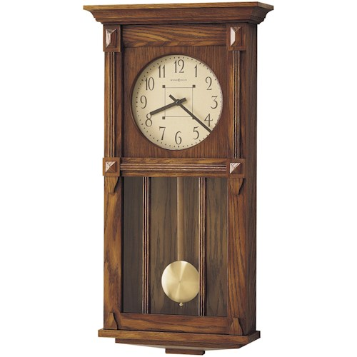 Howard Miller 620 Ashbee II Wall Clock