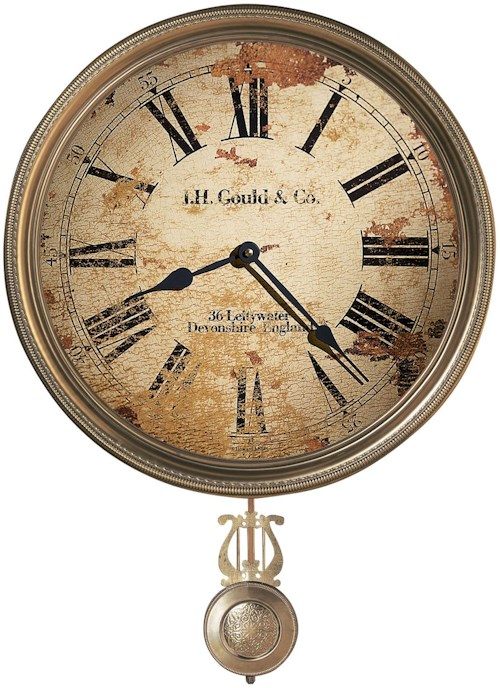 Howard Miller 620 J.H. Gould and Co. III Wall Clock