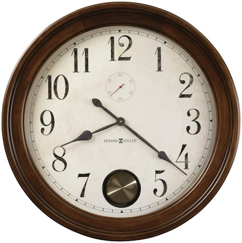 Howard Miller 620 Auburn Wall Clock