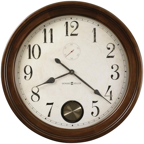 Howard Miller 620 Auburn Wall Clock
