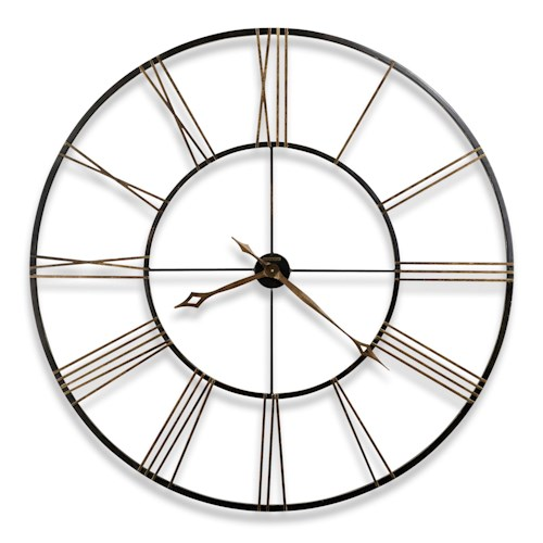 Howard Miller Wall Clocks Postema Metal Wall Clock