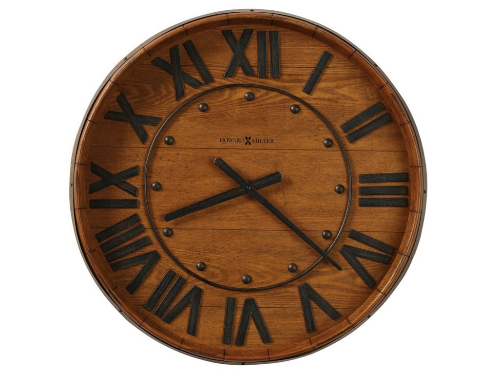 Howard Miller Wall ClocksWine Barrel Wall Clock