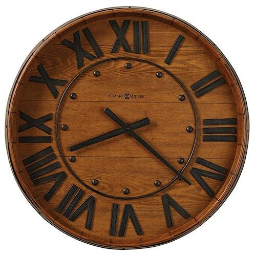 Howard Miller Wall Clocks Wine Barrel Wall Clock