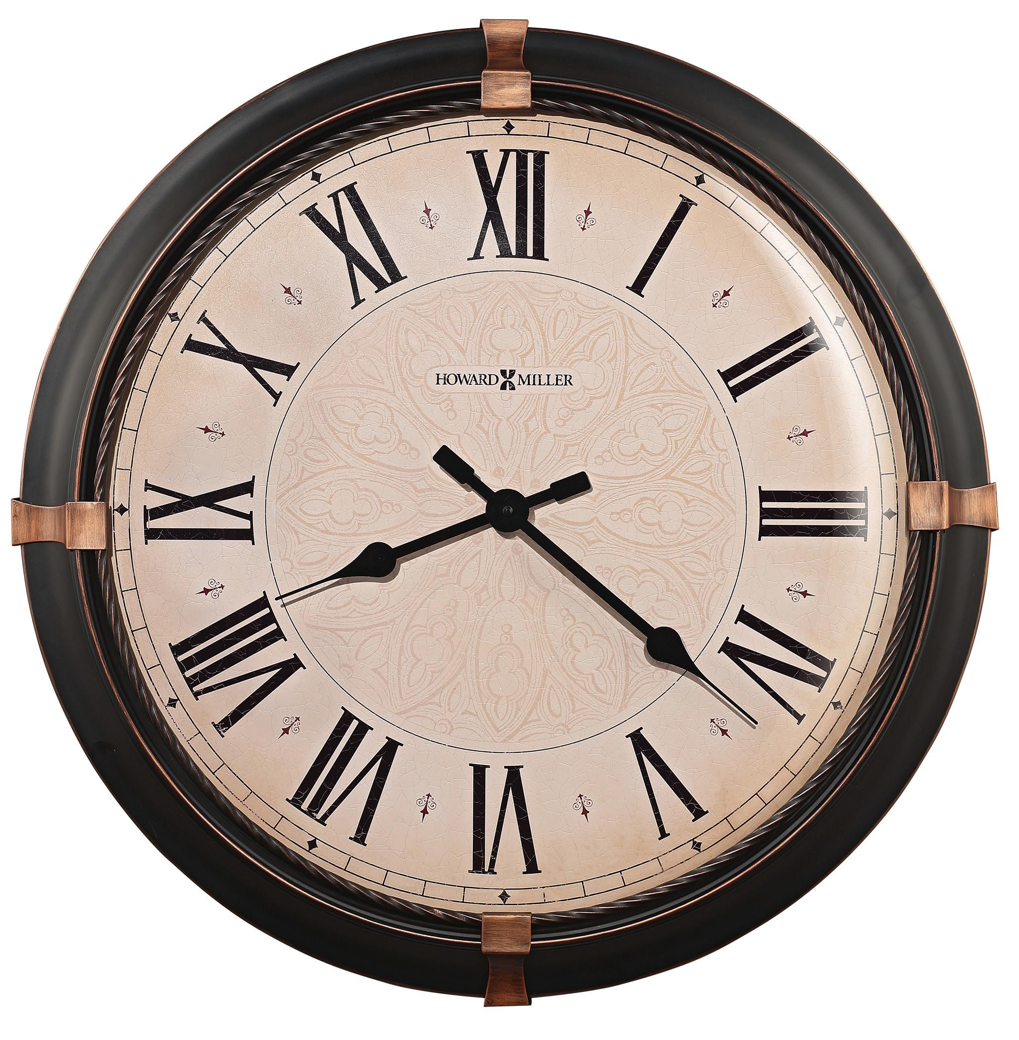 Atwater Roman Numeral Wall Clock