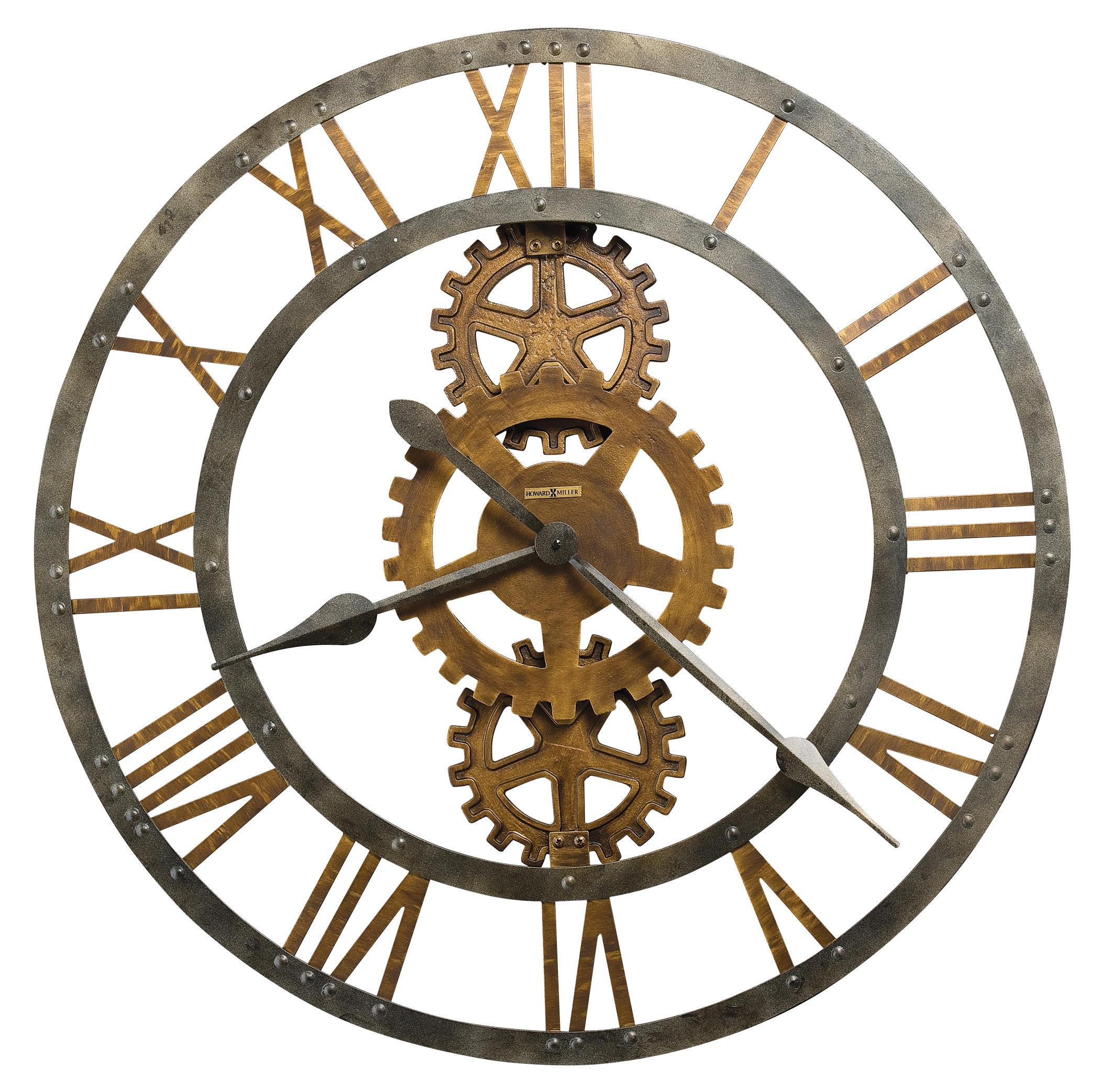 Crosby Metal Wall Clock
