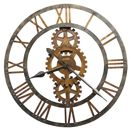 Howard Miller Wall Clocks Crosby Metal Wall Clock