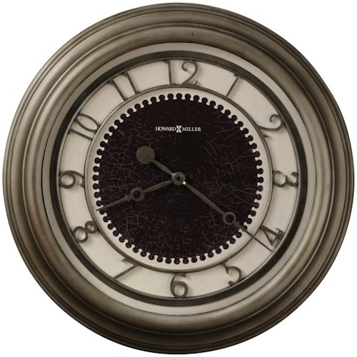 Howard Miller Wall Clocks Kennesaw Antique Nickel Wall Clock