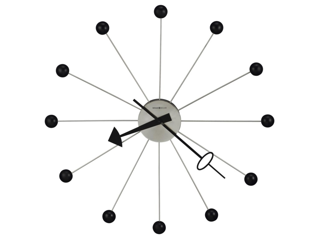 Howard Miller Wall ClocksBall Wall Clock II