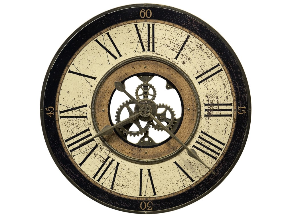 Howard Miller Wall ClocksBrass Works Wall Clock