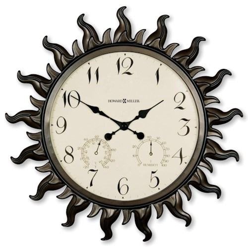 Howard Miller Wall Clocks Sunburst II Wall Clock