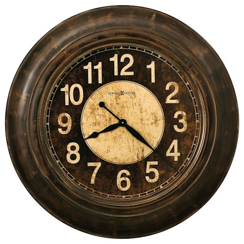 Howard Miller Wall Clocks Bozeman Round Wall Clock