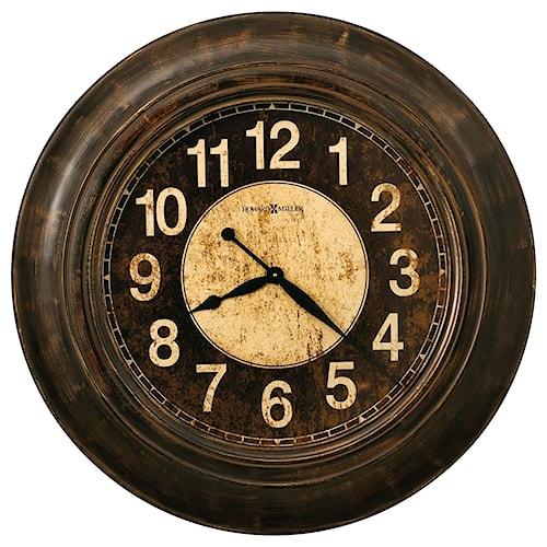 Howard Miller Wall Clocks Bozeman Round Wall Clock