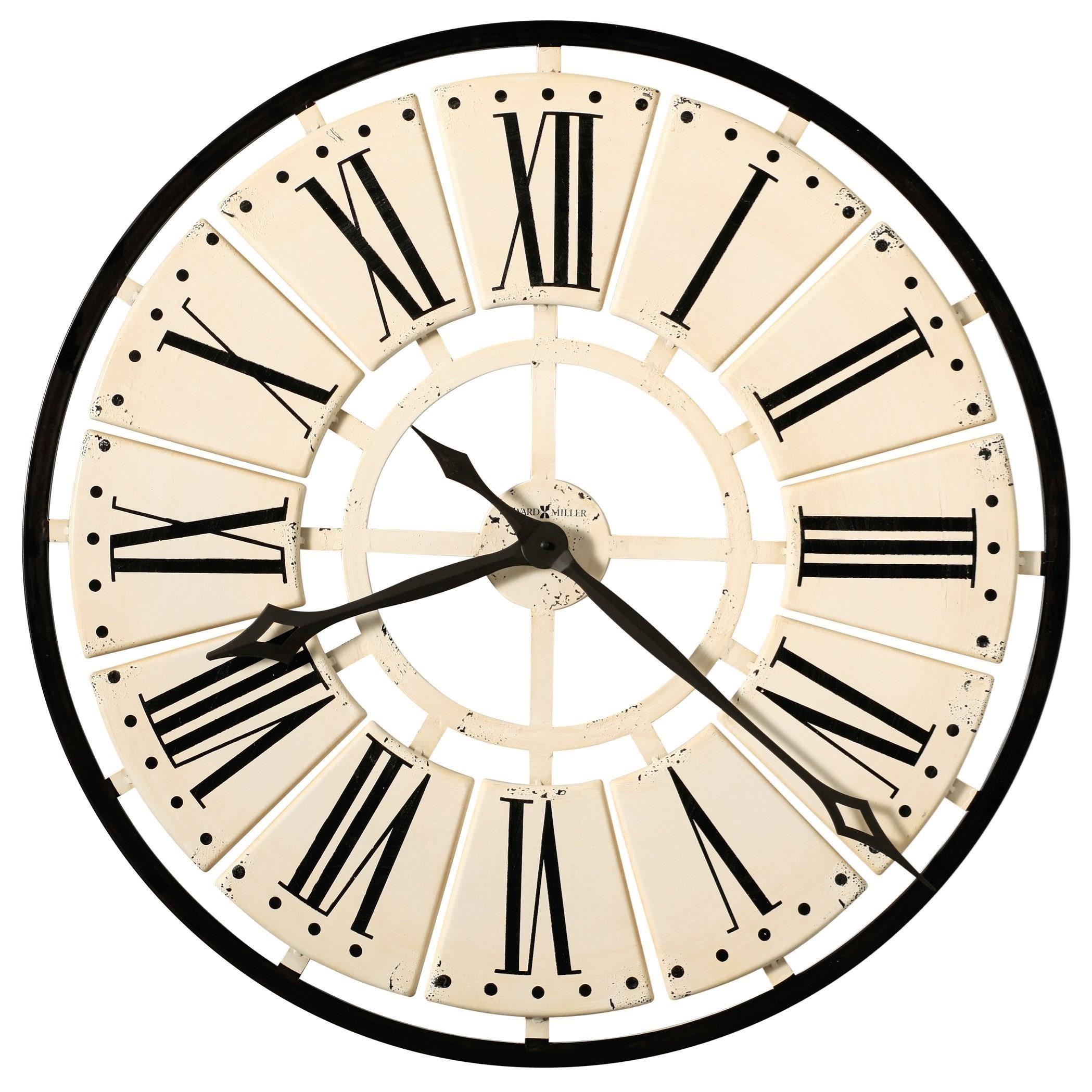wall clocks pierre wall clock by howard miller