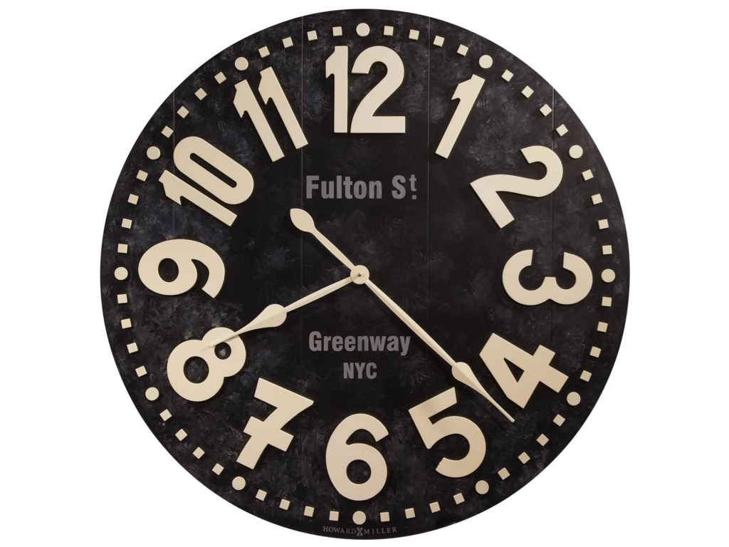 Howard Miller Wall ClocksFulton Street Wall Clock