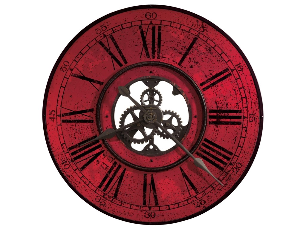 Howard Miller Wall ClocksRed Brassworks Wall Clock