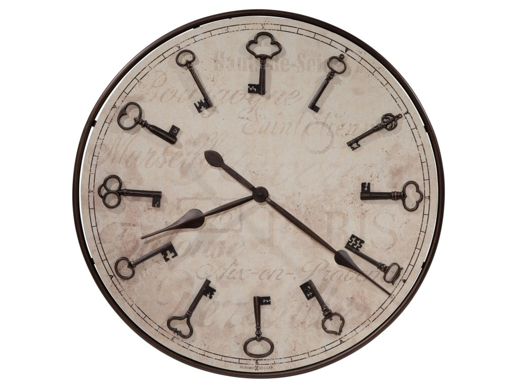 Howard Miller Wall ClocksCle De Ville Wall Clock