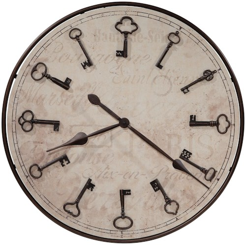 Howard Miller Wall Clocks Cle De Ville Wall Clock