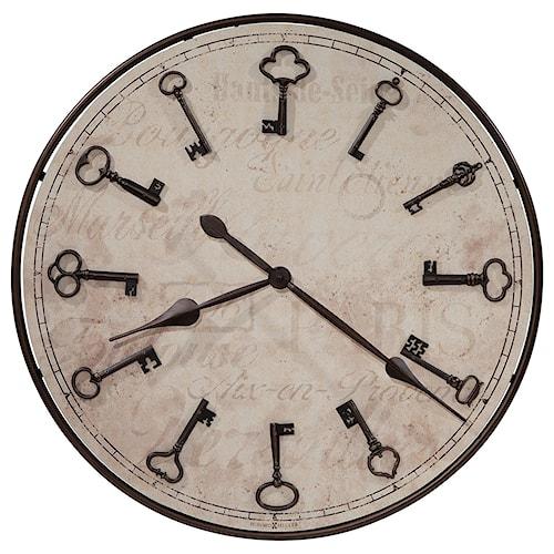 Howard Miller Wall Clocks Cle De Ville Wall Clock