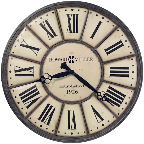 Howard Miller Wall Clocks Company Time Wall Clock