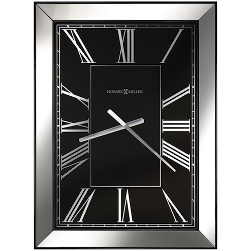 Howard Miller Wall Clocks Ceara Rectangular Wall Clock
