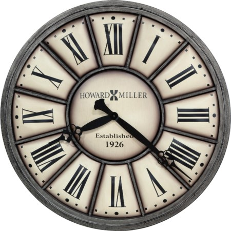 Company Time II Wall Clock