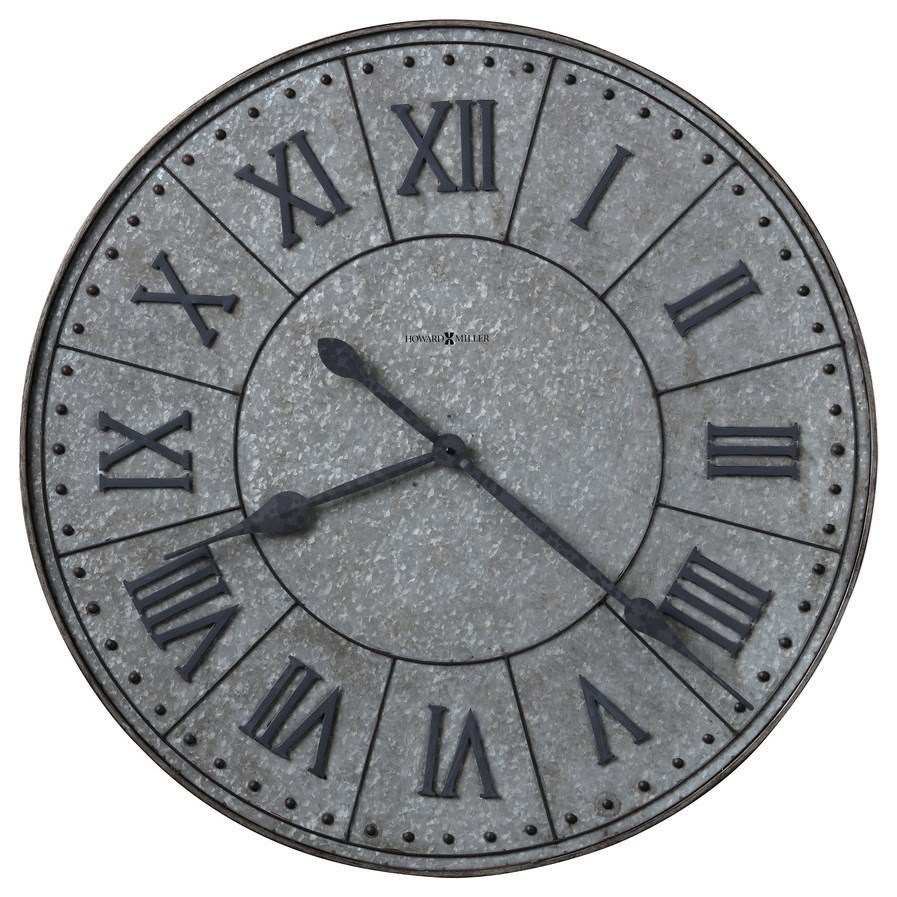 Manzine Metal Wall Clock