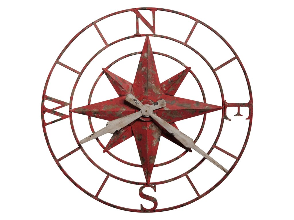 Howard Miller Wall ClocksCompass Rose Wall Clock