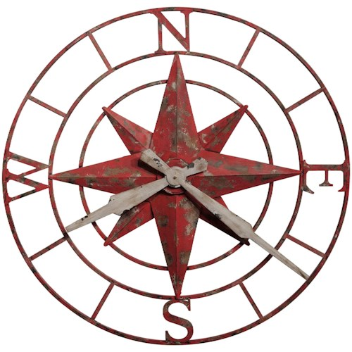 Howard Miller Wall Clocks Compass Rose Wall Clock