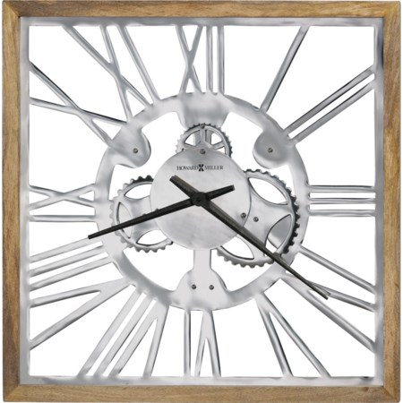 Mecha Wall Clock