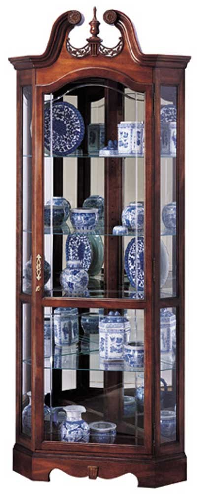 Cabinets Berkshire Collectors Cabinet By Howard Miller