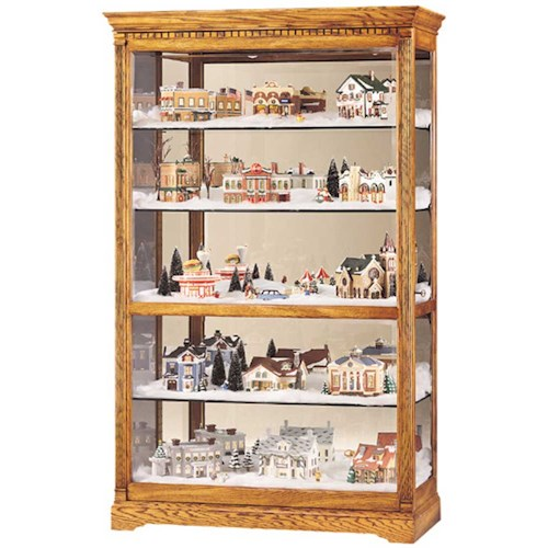Howard Miller Cabinets Parkview Collectors Cabinet