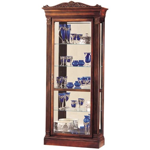 Howard Miller Cabinets Embassy Collectors Cabinet
