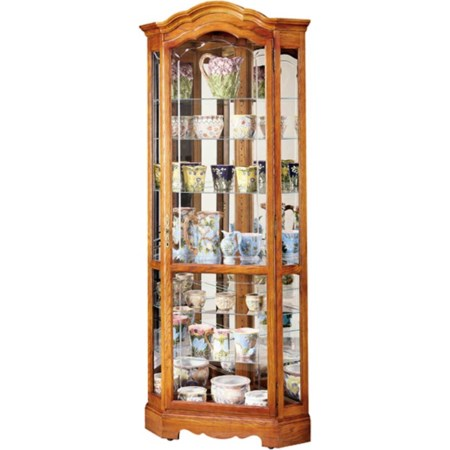 Jamestown II Collectors Cabinet