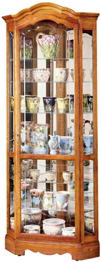Charming Howard Miller Cabinets Jamestown II Collectors Cabinet
