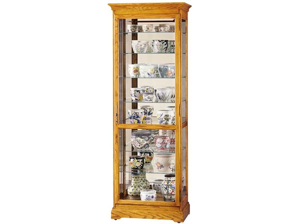 Howard Miller CabinetsChesterfield II Collectors Cabinet