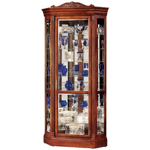 Howard Miller Cabinets Embassy II Collectors Cabinet
