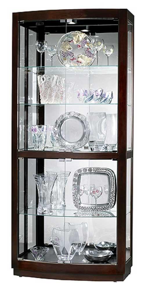 Howard Miller Cabinets Bradington Collectors Cabinet